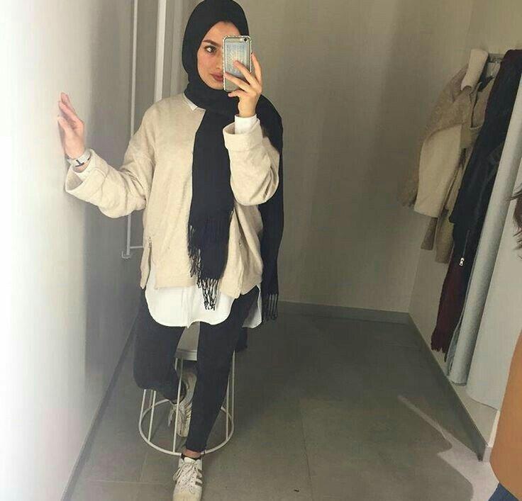 Hijab fashion ❤