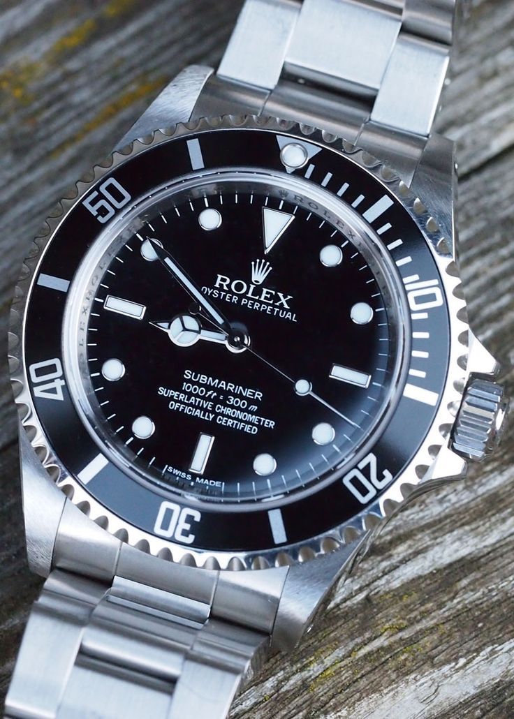 Rolex Submariner Ref 14060M. If you could get one, you know you are wearing a…