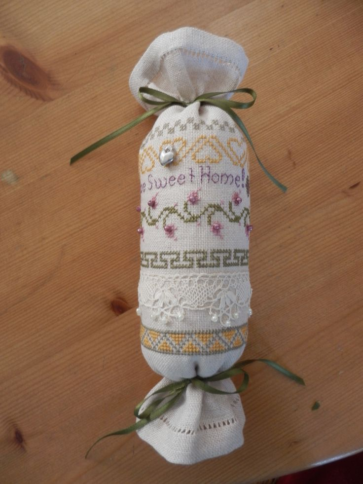 Border roll, made with patterns from A Randje per Week.( A border a week!) Gave this to my daughter Audry.
