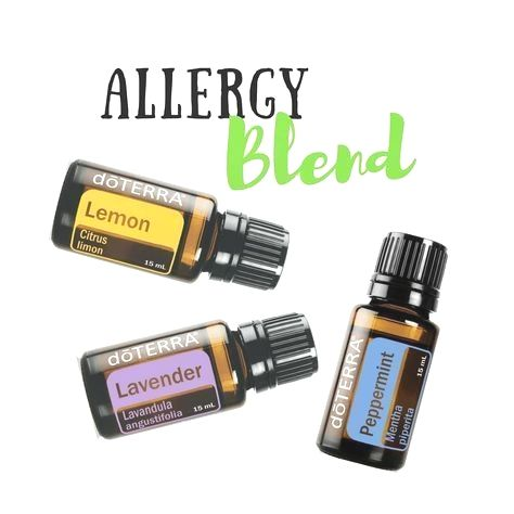 Allergy Blend! Much needed for the start of spring! Use this Trio to fend off th…Natural Weightloss Remedies