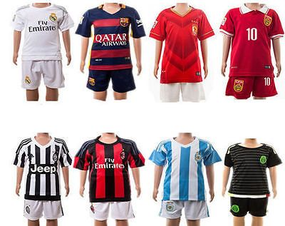 Soccer #football 2016 jersey kit #short #sleeve kids boy 3-14y team suit sportswe,  View more on the LINK: http://www.zeppy.io/product/gb/2/201538804757/