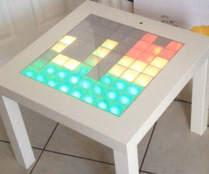 Arduino Music Visualizer Table