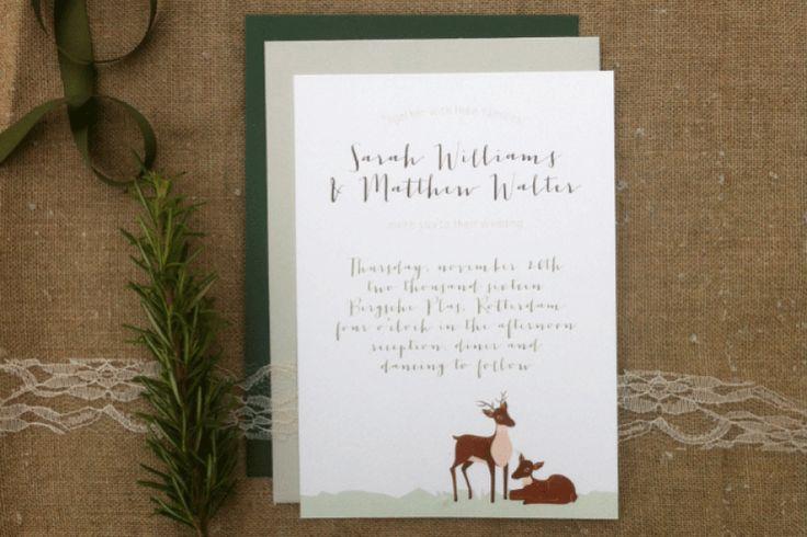 Dear oh dear!    Wedding Stationery set - design: Leintjes Exclusief    Photocredits: Anaïs Stoelen