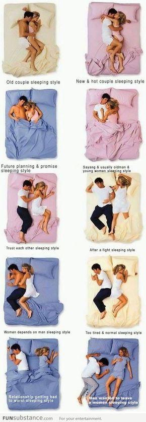 Couple's Sleeping Positions