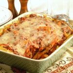 Beef Penne Pasta Casserole - This casserole with pasta and beef is sure to become a family favorite. It's also easy to prepare ahead and freeze for up to 2 months. When you're looking for a quick meal, just put it in the oven to bake.