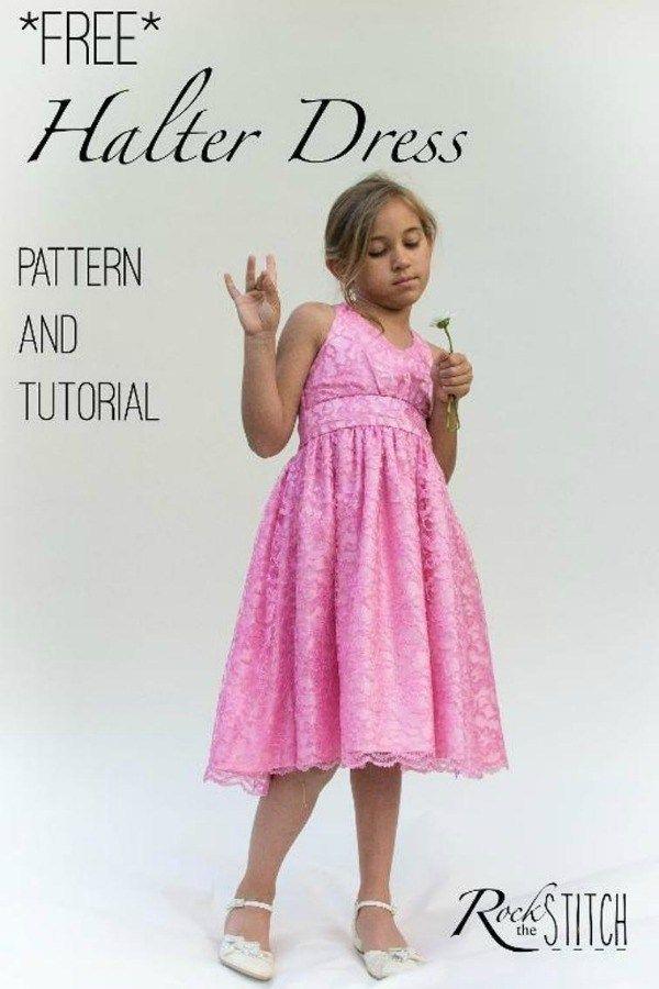 Kwik Sew K4038 Pattern Girls Dresses  All Sizes in One Envelope