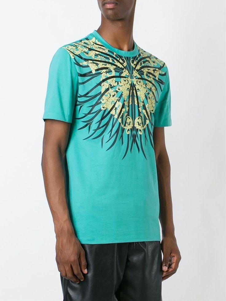 BAROQUE PRINT T-SHIRT | VERSACE ヴェルサーチ | メンズ - トップス - 半袖Tシャツ | Color | 海外通販ならLASO(ラソ)
