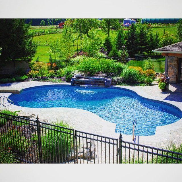 Best Backyard Family Pools :  Pools by Pioneer Family Pools on Pinterest  Backyard retreat, Vinyls