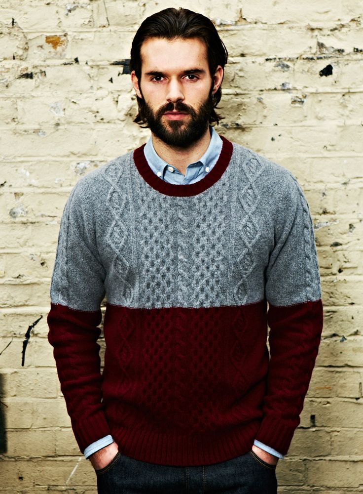 Montague Burton Elton Crew Neck Jumper