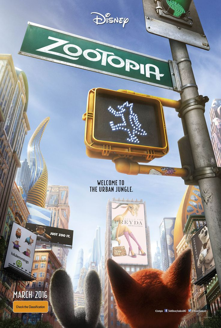 Welcome to Disney's #Zootopia. It's like nothing you've seen be-fur...
