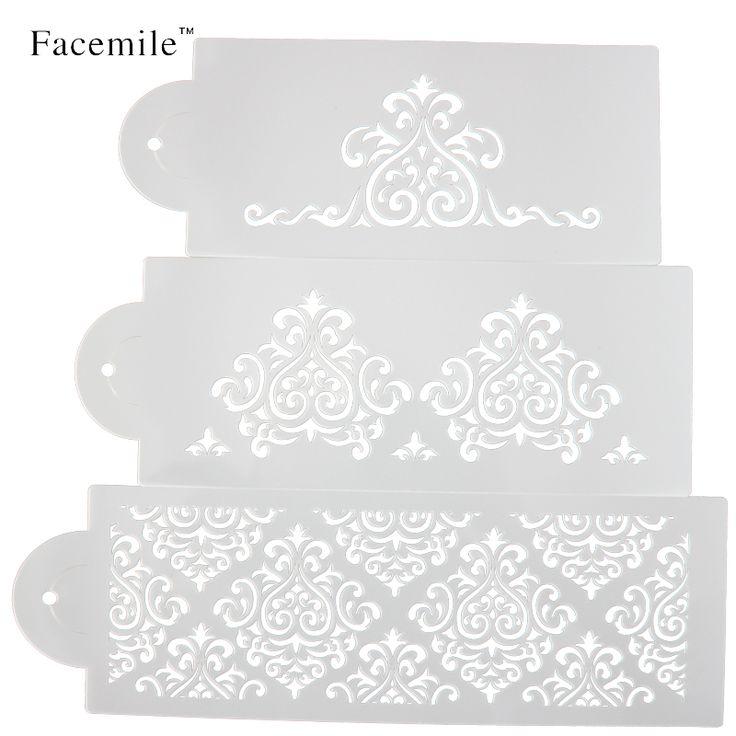 Kue biscuit stencil bakery alat fondant cetakan mahkota raja putri ratu Bakeware Baking Fondant Kue Stencil Template Cetakan 52059