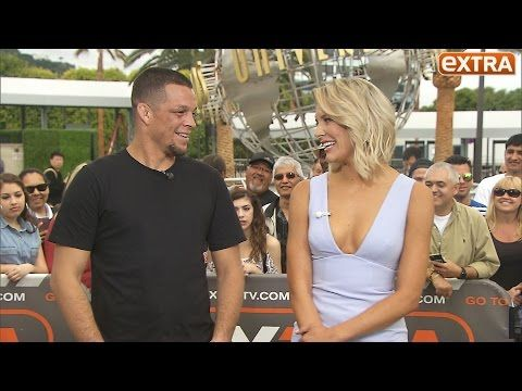 extratv: UFC Champ Nate Diaz's Message for Justin Bieber and His Reaction to Retirement Rumors