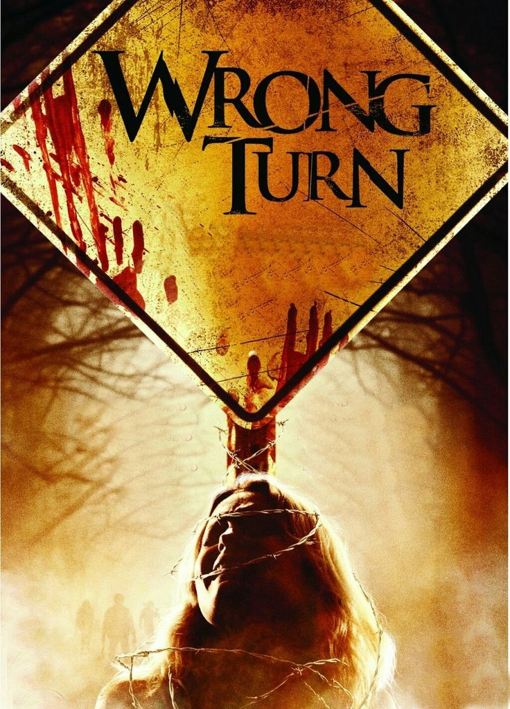 Wrong Turn Horror Movie Poster