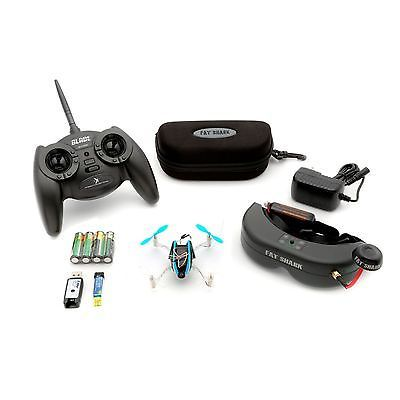 BLADE BLH7200 NANO QX FPV RTF MICRO RC QUAD DRONE QUADCOPTER FAT SHARK HEADSET