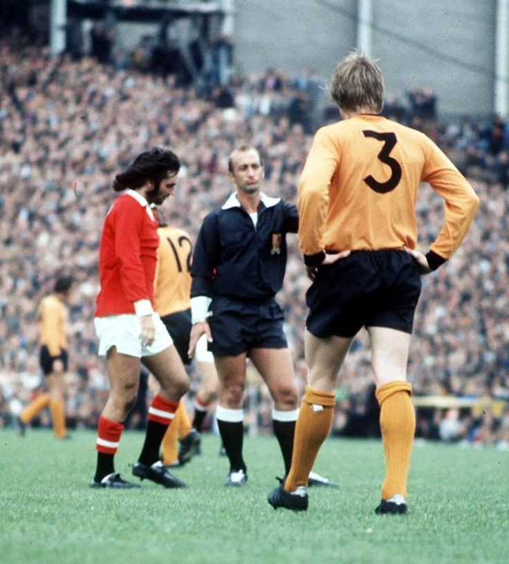 Wolves v Man Utd - George Best
