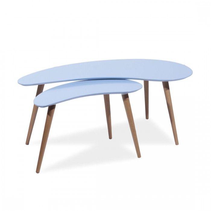 Tavolini Sven blu by Signal