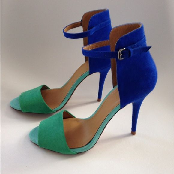 128 best Blue & Green Heels images on Pinterest | Shoes, Green ...