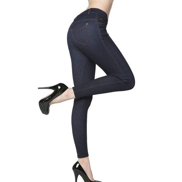 Yelete Original 5 Pocket Fashion Jeggings - Navy