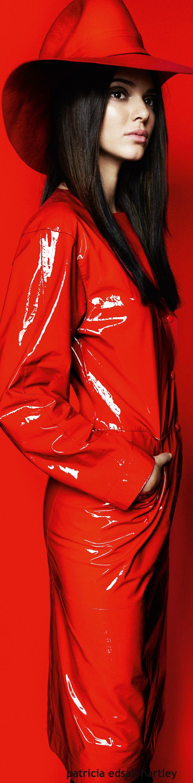 Kendall Jenner - Vogue China - esplendor femenino en red July 2015