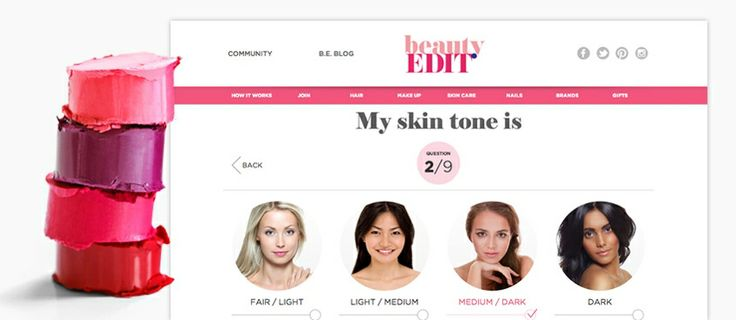 Fill out your personal profile at #beautyedit, and we can tailor our subscriptions to you! head over to www.beautyedit.com.au