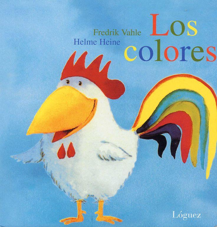 ¿Qué colores forman el arco iris? Iniciación a los colores en una bella historia con los pinceles de Helme Heine.