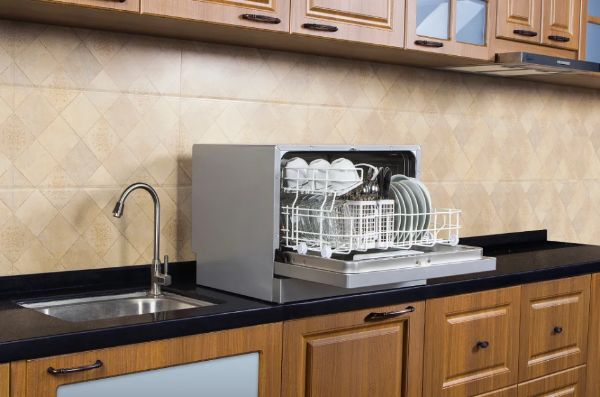 How To Install A Dishwasher in 2020 | Countertop ...