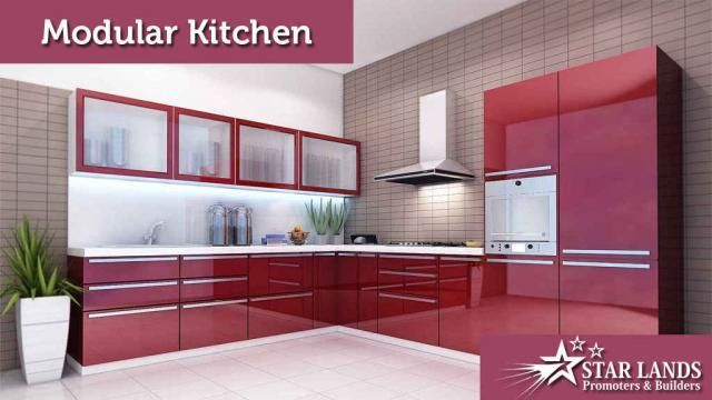 Modular Kitchen Modular #kitchen The kitchen is the heart of the home; meals and memories are made here We think creatively to satisfy your #construction needs! Contact: 95006 45566