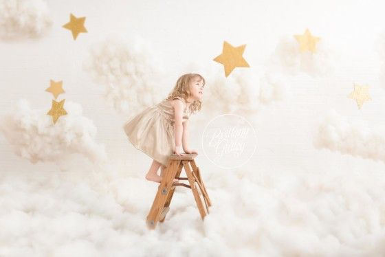 Cloud 9 Dream Session Photo Shoot | Stars & Clouds Inspiration | Brittany Gidley Photography LLC