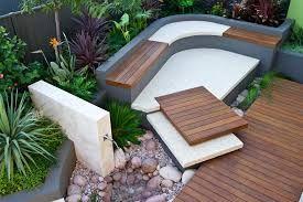 bildergebnis für moderne terrassengestaltung mit kies | klotz in, Gartenarbeit ideen
