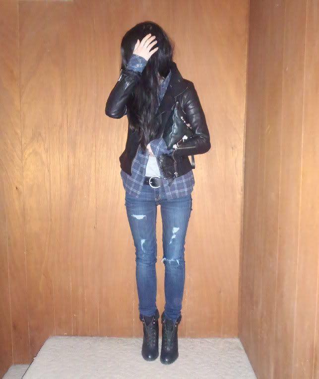 Aritzia Mackage Kenya leather jacket | Initialed | Vancouver Fashion