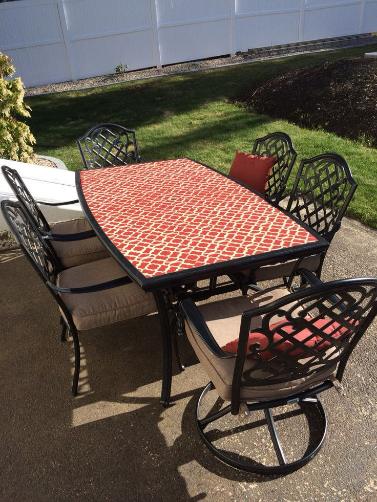 Broken glass table dream patio table top patio table