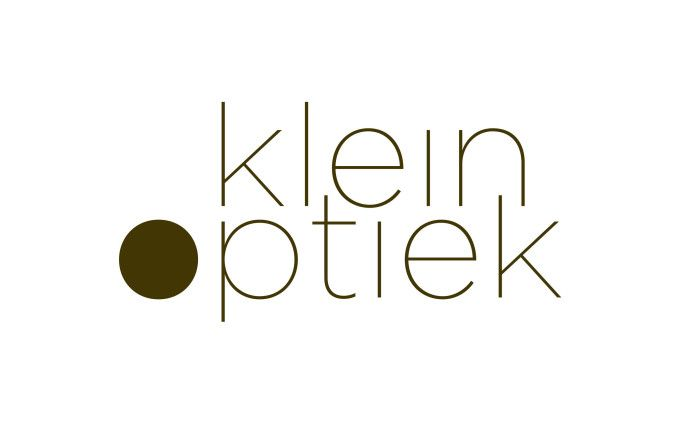 klein optiek, visual identity / logo design, by daily milk