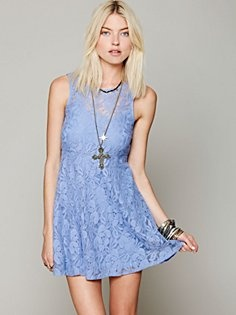 Sleeveless Miles of Lace Dress in features-shop-by-girl-candy