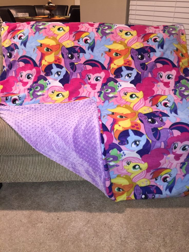 My Little Pony Blanket by CozyChryssy on Etsy https://www.etsy.com/listing/210856762/my-little-pony-blanket