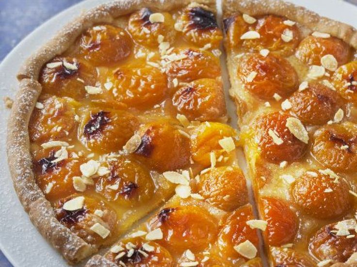 pâte sablée, abricot, farine, sucre, cassonade
