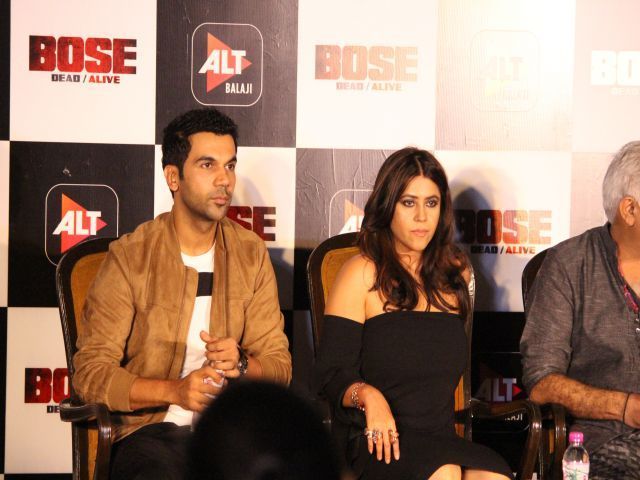 The Star Cast of Bose Dead/Alive Addressed Media in New Delhi Ekta Kapoor's upcoming web series Bose: Dead / Alive, starring Rajkummar Rao as freedom fighter Subhash Chandra Bose is all set to release. Well, we know that Ekta Kapoor is also known as daily soap queen, after launching her web venture ALT Balaji, she […]