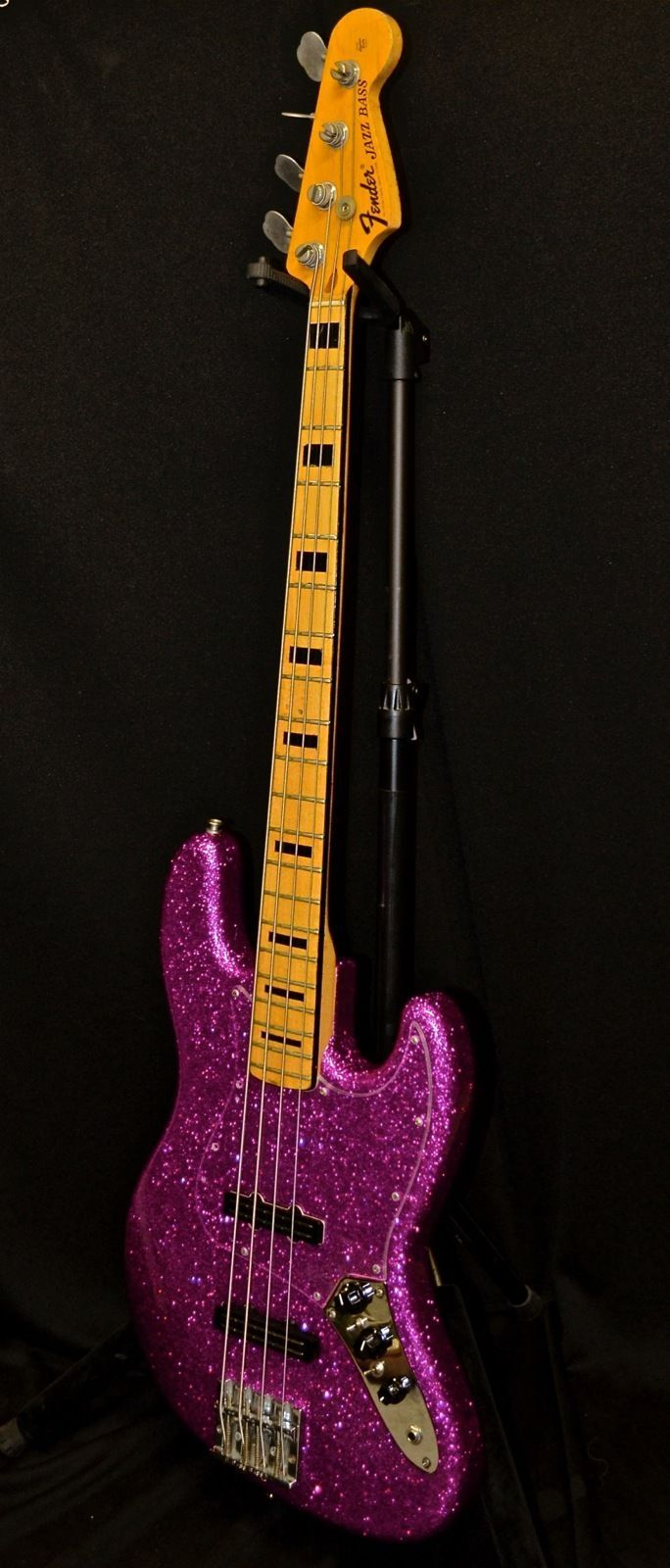 Vintage 1973 Fender Jazz Bass Neck Warmoth Body Joe Barden Pickups Custom Build | eBay