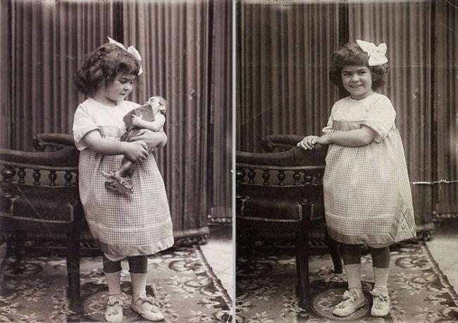 Frida Kahlo at age 4, 1911