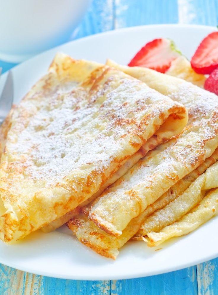 Einfaches Pfannkuchen Rezept Grundteig Und Alternative Zutaten