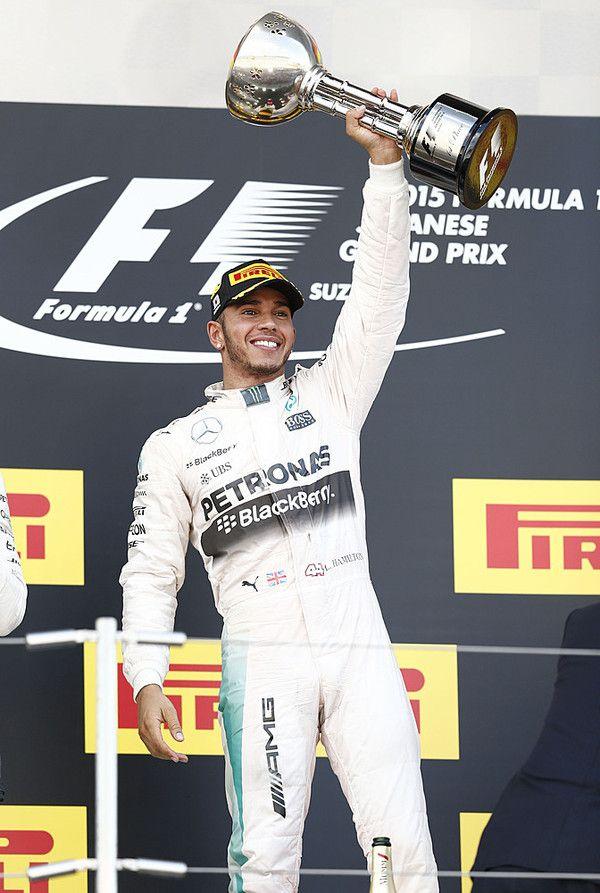 Lewis Hamilton Suzuka 2015