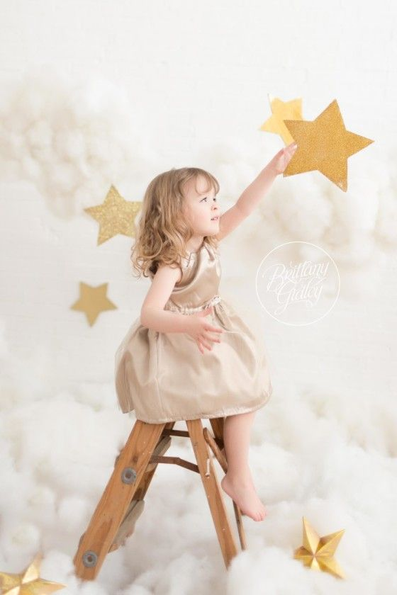 Cloud 9 Dream Session Photo Shoot   Stars & Clouds Inspiration   Brittany Gidley Photography LLC