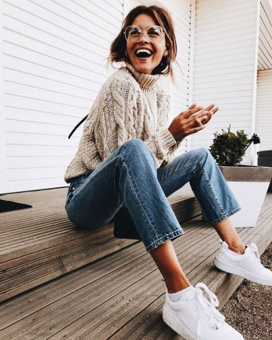 Tendencias de moda de otoño y ropa casual 2018 #fallfashion #fashion #casualoutfits