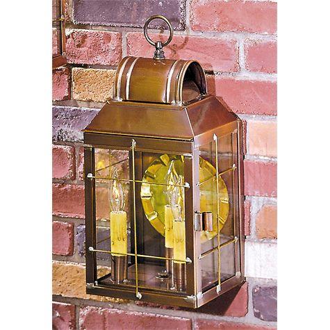Marthau0027s Wall Lantern In Antique Copper. Outdoor Light FixturesOutdoor ...
