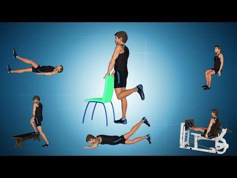 Exercises for Knee Sprain - YouTube