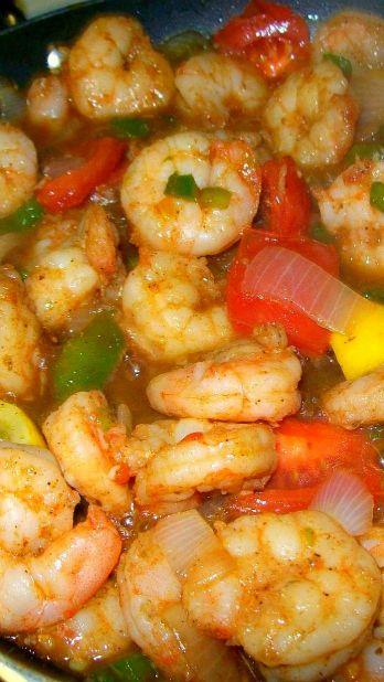 Creole Shrimp Stuffed Bell Pepper