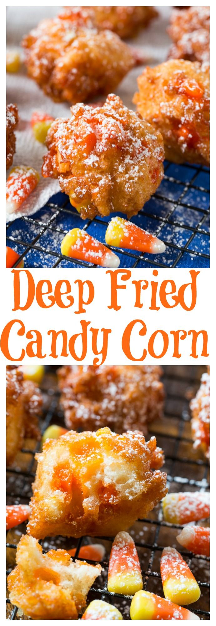Deep Fried Candy Corn -surpirisingly delicious!