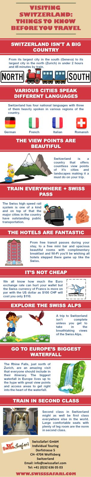 Twelve Days Exotic Escorted Switzerland Tour Plan