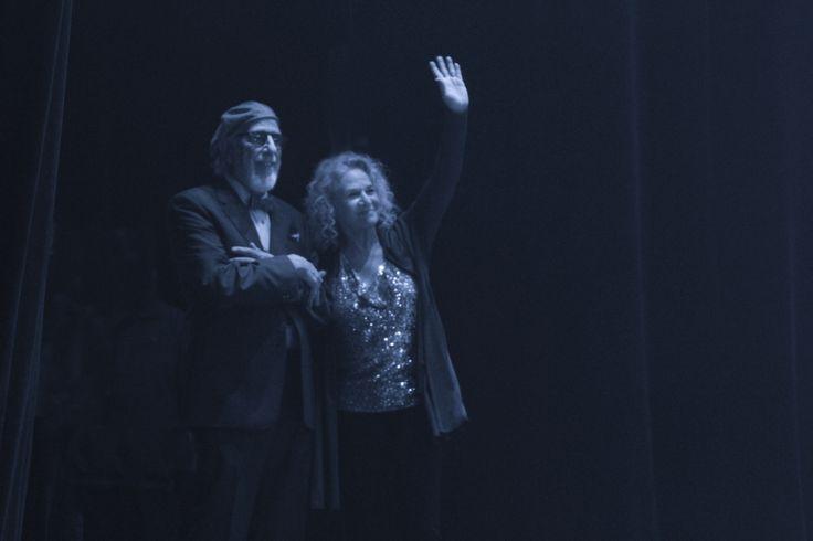 Lou Adler & Carole King at the Painted Turtle Celebration... Photo by Elissa Kline