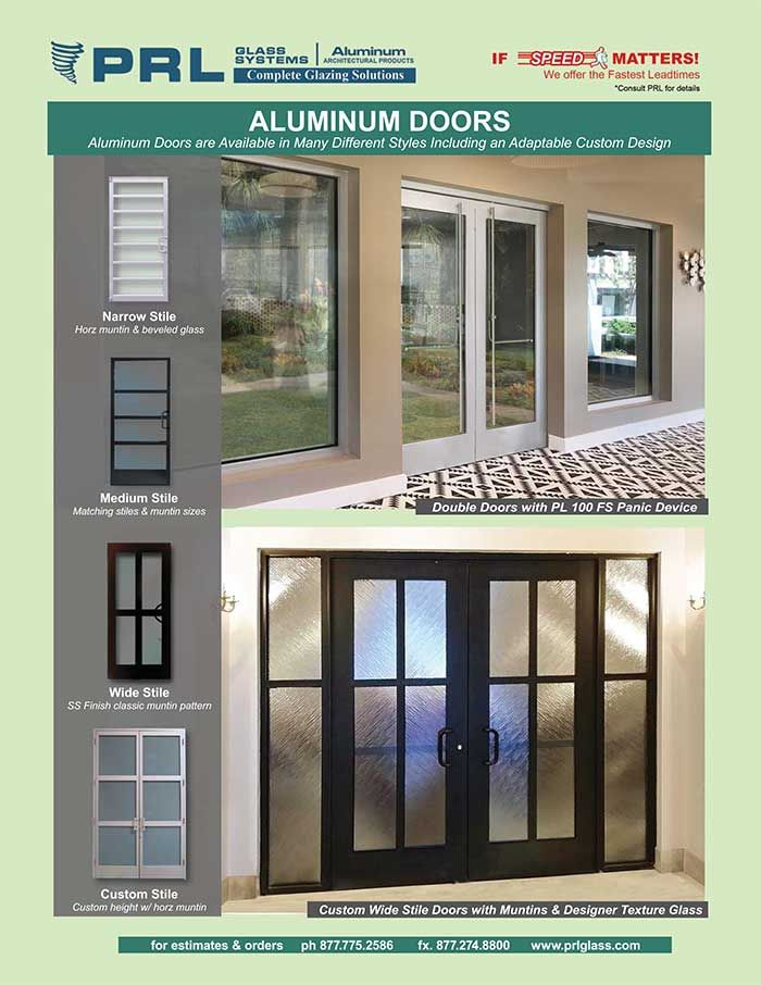 Exterior Aluminum Entry Doors Glass Types Hardware More