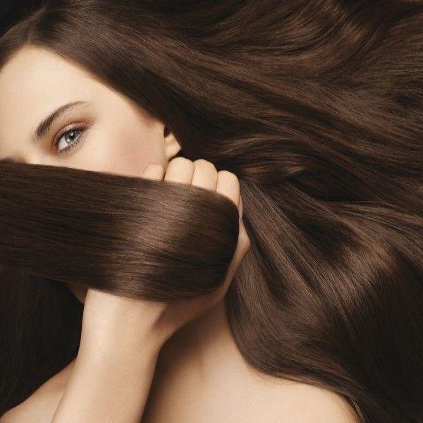 La reconstitución de los cabello del medio